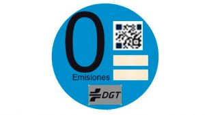clasificacion vehiculos segun contaminacion foto pegatina cero emisiones